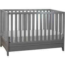 Convertible Crib With Storage Afg Baby Furniture Mila 3 In 1 Convertible Crib With Storage Gray