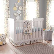 Nursery Room Curtains by Baby Nursery Nursery Themes Calming White And Grey Baby Bedding