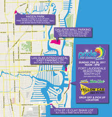 Map Of Ft Lauderdale Parking U2013 Pride Fort Lauderdale