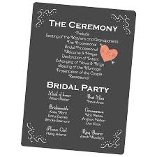 design wedding programs custom wedding programs