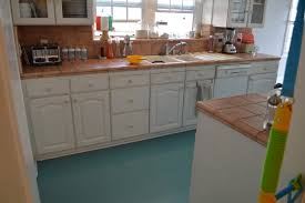 vinyl kitchen flooring ideas flooring painting kitchen floors my life as robins wife did you