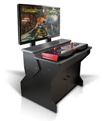 xtension sit down pedestal arcade cabinet for fight sticks