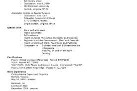 Example Artist Resume by Art Teacher Resume Examples Reentrycorps