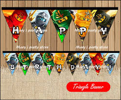 ninjago party supplies online shop ninjago banner baby shower ninjago birthday party