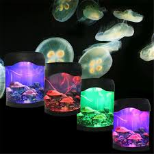 aliexpress com buy sale multicolor led light jellyfish tank sea