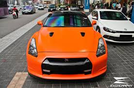 nissan orange matt orange nissan gtr by adam lew lew yun kuen photo 24239745