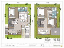 floor plan for 30x40 site 20x30 house plans beautiful duplex house plan in 30x40 site with car