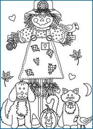 autumn coloring pages with pumpkin for kids seasons at fall