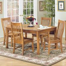 dining room furniture denver co 5 piece rectangular dining table and side chair set by intercon