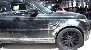 land rover spectre iaa 2015 jaguar land rover james bond spectre 007 youtube