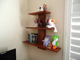 Wooden Shelf Design Ideas by Appealing Modern Shelf Design Ideas With White Wall And Brown