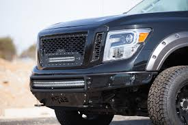 nissan titan rear bumper replacement 2017 nissan titan xd gets ready for off road fun autoguide com news