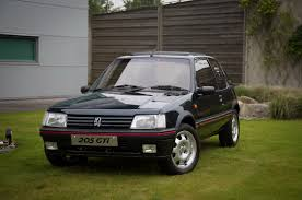 peugeot 2 door car peugeot 205 gti restored u0026 improved by uk apprentices