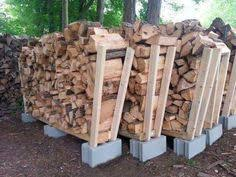 use these free firewood rack plans to build your own firewood