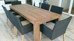 outdoor dining table plans teak outdoor dining table kenfallinartist com