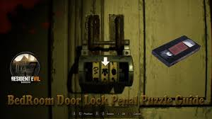 Bedroom Door Resident Evil 7 Banned Footage Bedroom Door Lock Penal Puzzle
