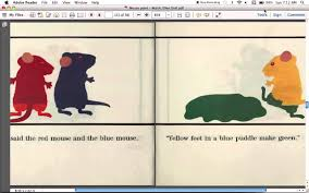 mouse paint read aloud youtube