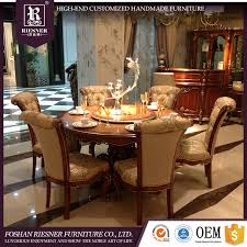 Luxurious Dining Rooms Classic Luxury Wooden Dining Room Set Classic Luxury Wooden