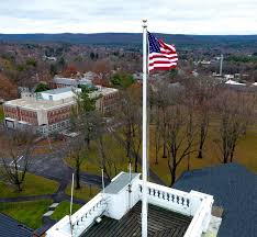 Amherst College by Only In The Republic Of Amherst And Our Flag Was Not Still There