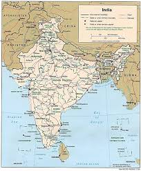 World Map Of India by India Maps