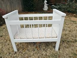 Free Woodworking Plans For Baby Crib by Ana White Fancy Baby Doll Crib And High Chair Diy Projects