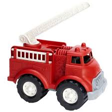 amazon com green toys fire truck toys u0026 games