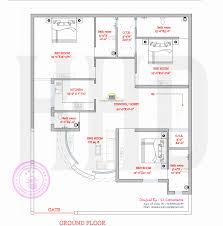 modern house plan with round design element kerala home design ground floor plan