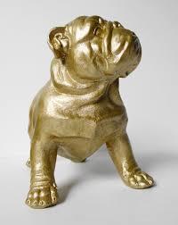 bulldog bulldog gold bulldog ornament bulldog