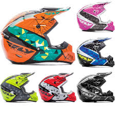 Fly Racing 2017 Kinetic Crux Motocross Helmet Helmets