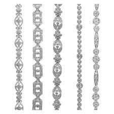 bracelet fine jewelry images Art deco diamond bracelet okg jewelry jpg
