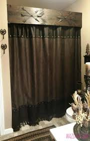 Brown And Teal Shower Curtain by Bathroom Shower Guide To The Right Shower Curtain Long Shower