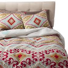 red utopia reversible duvet cover set target