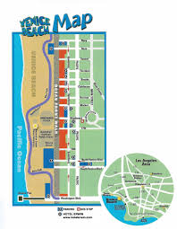 Map Of Los Angeles And Surrounding Areas by Local Map Of Venice Beach Venicebeach Com