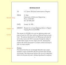 engineering memorandum format format