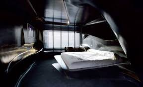 Cool HotelStyle Bedroom Design Ideas  Dark Futuristic Hotel - Futuristic bedroom design