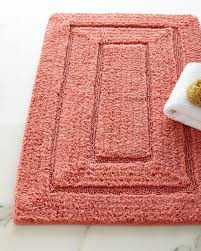 Cotton Bathroom Rugs Kassatex Tufted Cotton Bath Rug 20 X 32