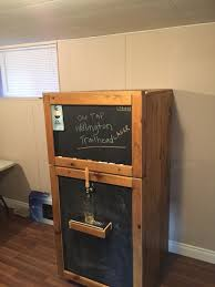 Full Size Kegerator Gotta Have The Drinks On Tap Needs For A Perfect Garage