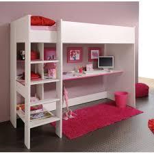 chambre fille lit superposé lit mezzanine une pièce supplémentaire cosy et intimiste lit