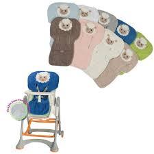 housse chaise haute eponge dolly rosa prima infanzia gris achat