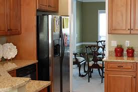 refrigerator that looks like a cabinet