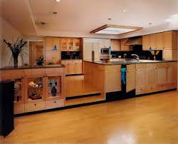 raised kitchen kitchen modern with floating kitchen island nature