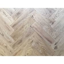 p126 light burnt tumbled parquet flooring size 16x70x280mm oak