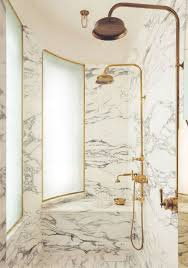 Brass Fixtures Bathroom Marble Shower Brass Fixtures Bathrooms Pinterest Marbles
