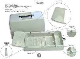 Portable Sewing Table by P60216 Portable Carrying Case For Standard Flatbed 14 5x7