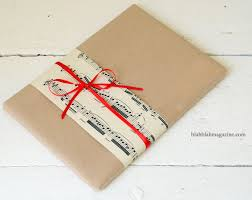 recyclable wrapping paper recycled brown christmas wrapping paper by