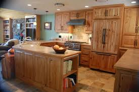 Hickory Kitchen Cabinets Hickory Kitchen Cabinets Trend Alert Interior Hickory Kitchen