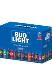 how much is a 36 pack of bud light 2017 bud light nfl team cans limited edition variety pack price