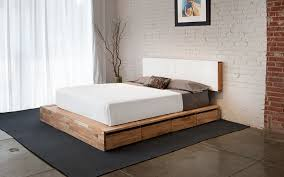 How To Make A Platform Bed With Headboard by Storage Bed Laxseries