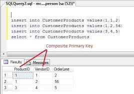 sql server create table primary key how to create composite key in table of sql server asp net