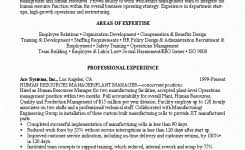 sample benefits manager resume good project manager resume sample